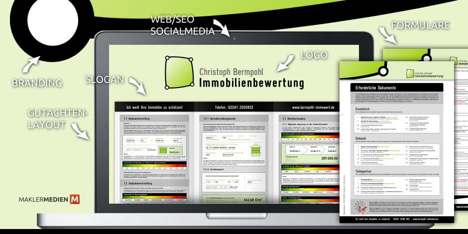 Maklermedien BERMPOHL Immobilienbewertung Siegburg