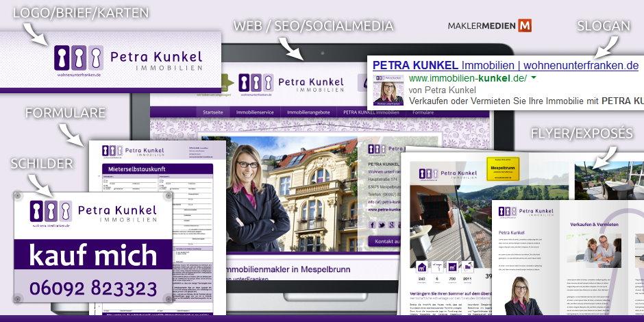 Maklermedien Petra Kunkel Immobilien Mespelbrunn