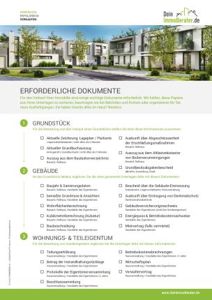 Formulare Immobilienmakler Checklisten Werbeagentur