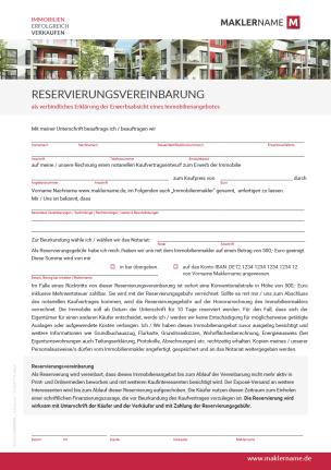 Formulare, Checklisten & Vorlagen für Immobilienunternehmen