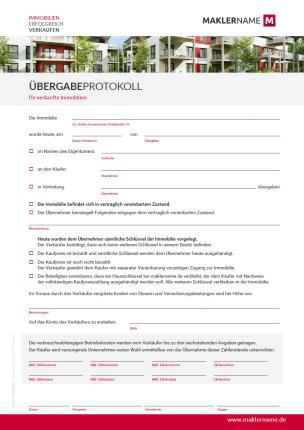 Vorlagen Checklisten Und Formulare Für Immobilienmakler